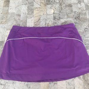 Champion women's purple tennis skort size large